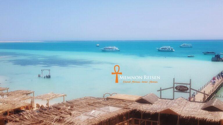 schnorchelausflug von Hurghada zur Orange Bay Insel - Memnon Reisen Hurghada