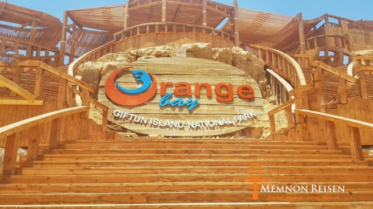 Orange bay Insel Hurghada Schnorcheln - Memnon Reisen Hurghada