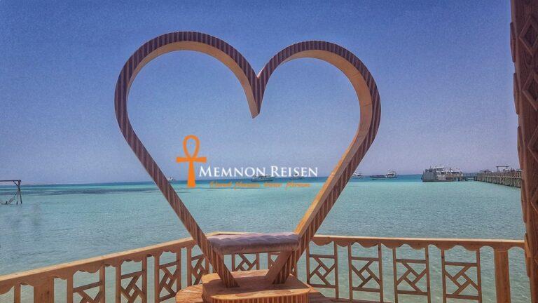 Orange Bay Insel Ausflug und Schnorcheln - Memnon Reisen Hurghada