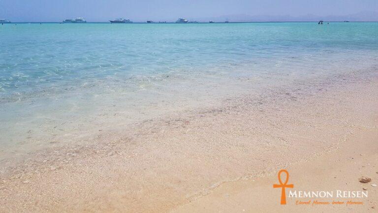 Relaxtour nach Orange Bay - Memnon Reisen Hurghada