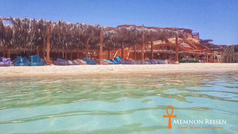 Orange Bay Ausflug ab Hurghada - Memnon Reisen Hurghada