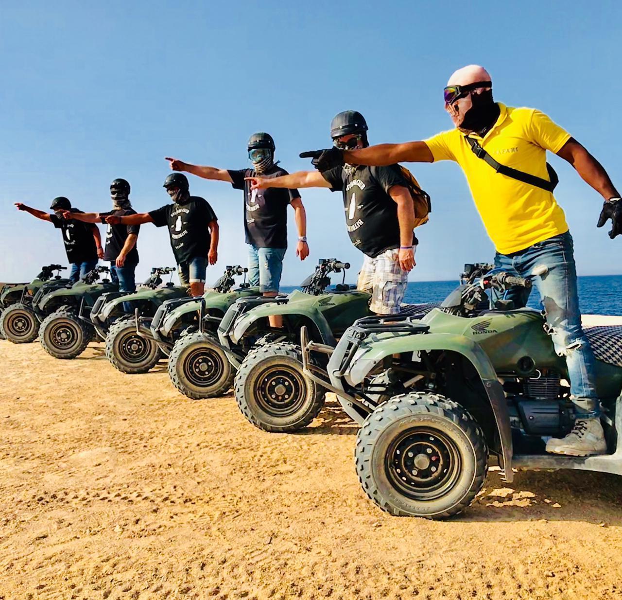 Quad Tour Makadi Wüste & Meer