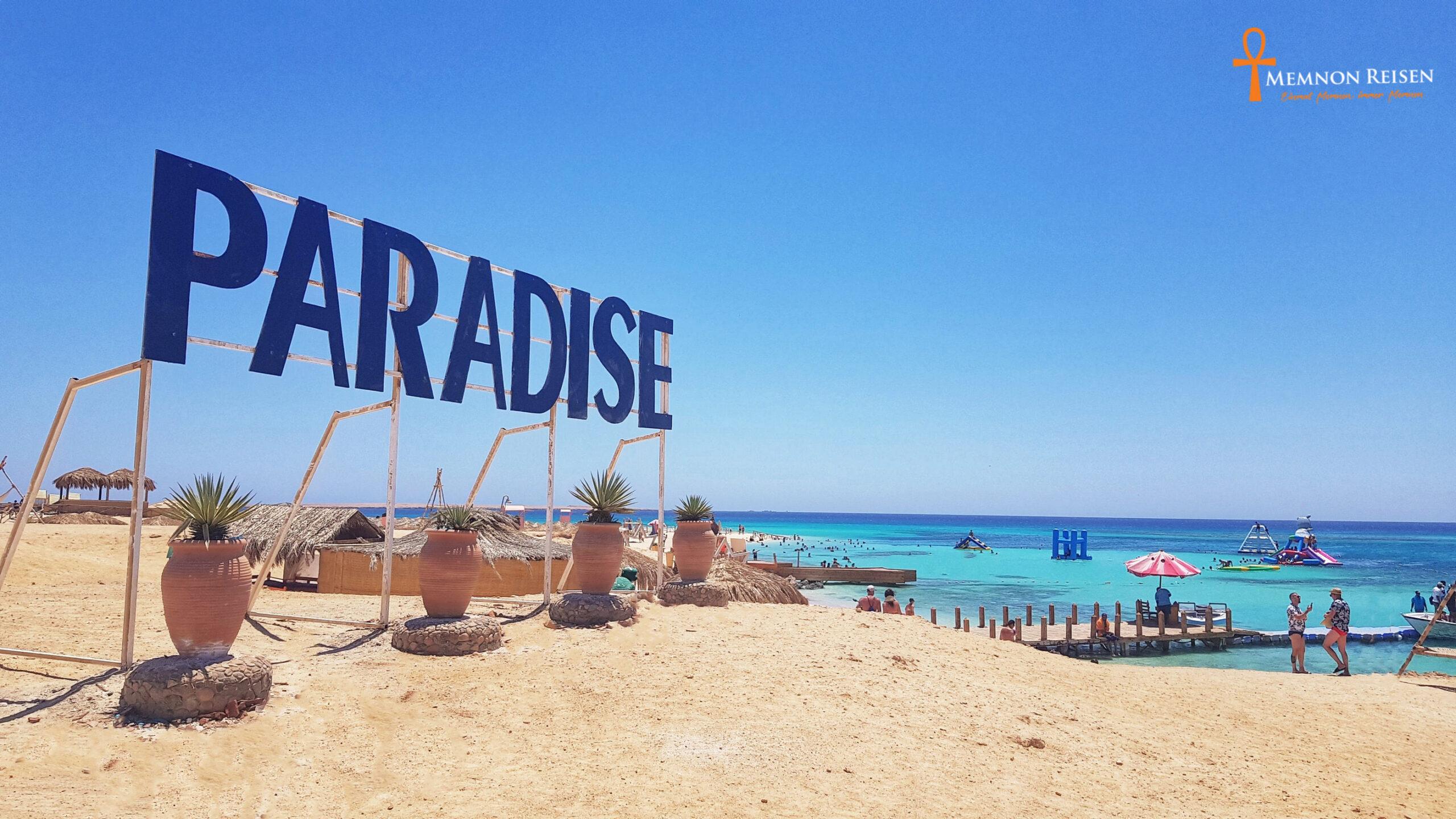 Paradise Island Ausflug Hurghada